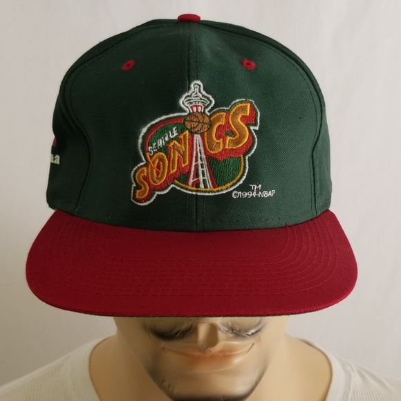 Vintage Seattle Sonics Hat